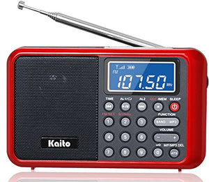 Kaito Ka108 Super Sound Quality Am Fm Shortwave Radio With Mp3 Player And Radio Recorder, Radio Time