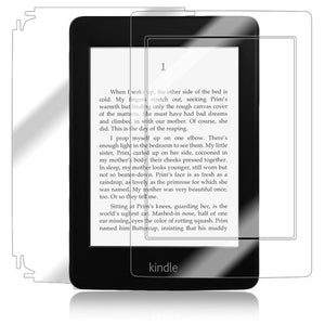 Skinomi Full Body Skin Protector Compatible with Amazon Kindle Paperwhite (WiFi, 3G)(Screen Protector + Back Cover) TechSkin Full Coverage Clear HD Film