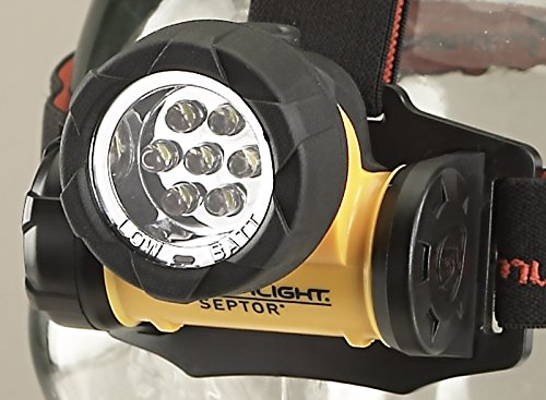 Streamlight 61052 Septor LED Headlamp with Strap - 120 Lumens