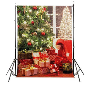 3x5ft 0.9 x 1.5m Christmas Thin Vinyl Photography Studio Props Photo Background
