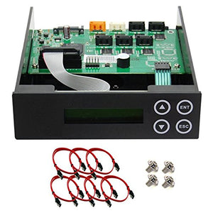 1 2 3 4 5 Blu Ray Cd/Dvd/Bd Sata Duplicator Copier Controller + Cables, Screws & Manual