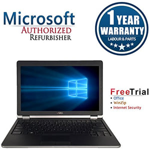 Dell E6220 12.5in Laptop Computer(Intel Core i5 2520M 2.5G,4G RAM DDR3,320G HDD,Windows 10 Professional)(Renewed)