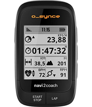 O-Synce Navi2Coach GPS + Power Cycling Computer with Twist mount RC Edition (Original (Black))