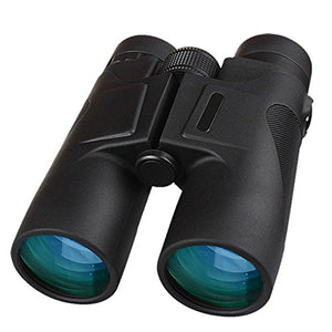 JHOPT8X32HD high-Power high-Definition Waterproof Binoculars Ridge Portable Binoculars Large Eyepiece revolving Eye Goggle Night Vision FMC Multi-Layer broadband Green Film