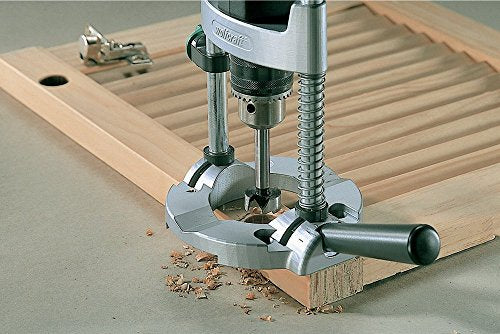 "wolfcraft 4525404 Muilt-Angle Drill Guide Attachment with Chuck for 1/4"" and 3/8"" Drills"