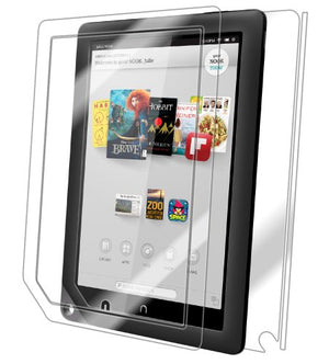 IQ Shield Full Body Skin Compatible with Barnes & Noble Nook HD+ (9 inch) + LiQuidSkin Clear (Full Coverage) Screen Protector HD and Anti-Bubble Film