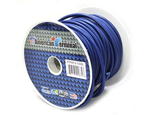 American Terminal ATPW12-100BL 12 Gauge Primary Wire, Blue