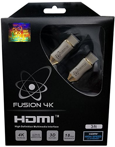 Fusion4K High Speed 4K HDMI Cable (4K @ 60Hz) - Professional Series (3 Feet)