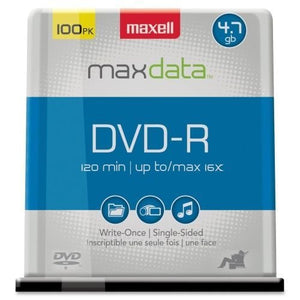 MAXELL - DVD-R 100-CT SPINDLE
