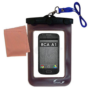 Outdoor Gomadic Waterproof Carrying Case Suitable for the RCA A1 to use Underwater - keeps device clean and dry