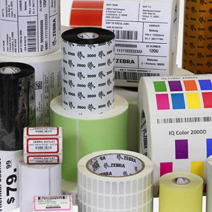 Wasp 4 x 6 Inch Thermal Transfer Barcode Labels for WPL305 4 Rolls (633808402587)
