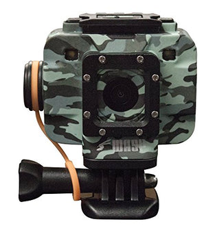 WASPcam Camo Edition 9906 Action-Sports Camera, Camo