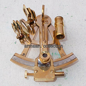VINTAGE STYLE Sextant Antique Marine Brass Octant Replica Nautical Decor Astrola