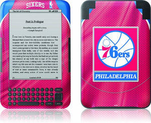 Skinit Kindle Skin (Fits Kindle Keyboard), Philadelphia 76ers