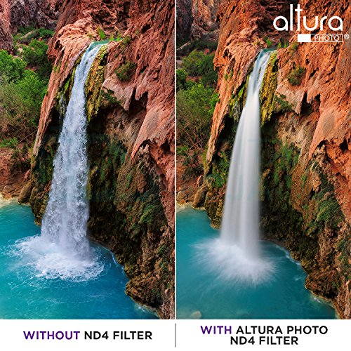 40.5MM Altura Photo Professional Photography Filter Kit (UV, CPL Polarizer, Neutral Density ND4) for Camera Lens with 40.5MM Filter Thread + Filter Pouch