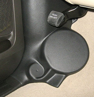 Kick Panel Speaker Mounts Compatible with Toyota Sequoia & Tundra Crewmax Regular & Double Cab