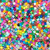 Load image into Gallery viewer, Perler Beads Bulk Assorted Multicolor Fuse Beads for Kids Crafts, 22000 pcs