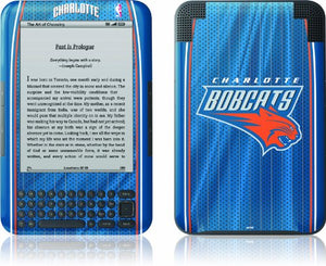 Skinit Kindle Skin (Fits Kindle Keyboard), Charlotte Bobcats