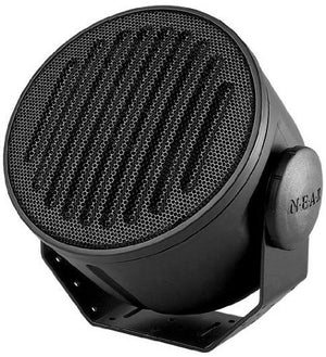 Black Outdoor/Indoor Weatherproof Loudspeaker 70V