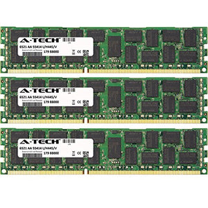 6GB KIT (3 x 2GB) for Dell Precision Workstation Series T5500 (ECC Registered). DIMM DDR3 ECC Registered PC3-10600 1333MHz Dual Rank RAM Memory. Genuine A-Tech Brand.