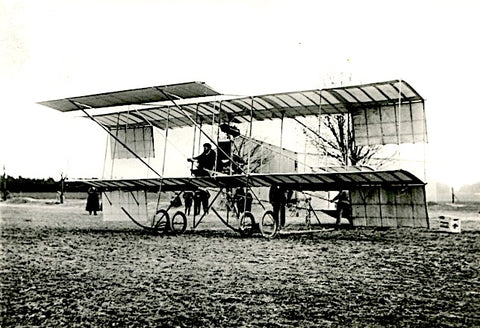 AVIATION-CP29 biplan farman