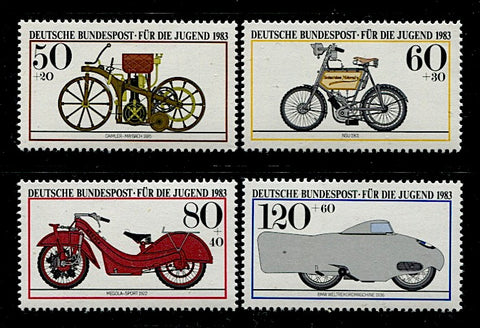 Allemagne-Federale-1000-1003 motocyclettes