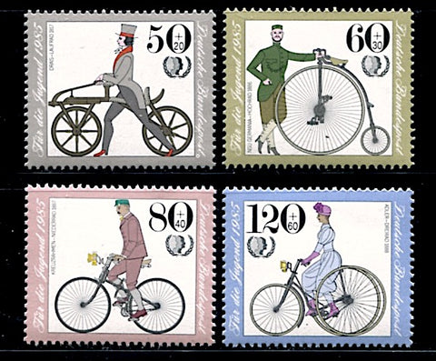 Allemagne-Federale-1074-1077 vélo bicyclette