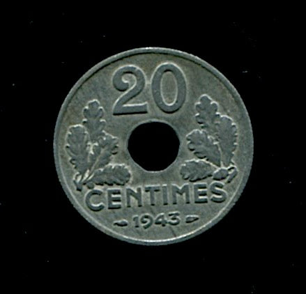 France-1943-20cts
