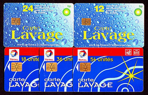 LT095 cartes lavage