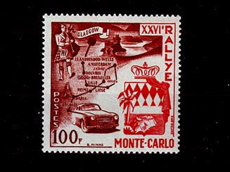 MC0441 rallye automobile de Monte-Carlo