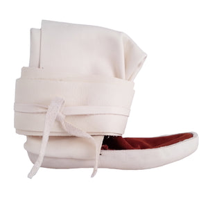 Native Legging Wrap Moccasins w/ Thick Sole (Child and Youth)