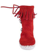 Load image into Gallery viewer, Taos Kids Fringe Moccasins 574 (Child)