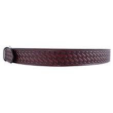 Load image into Gallery viewer, Basket Weave Embossed Leather Belt 627