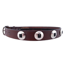 Load image into Gallery viewer, Star Concho Leather Belt 630