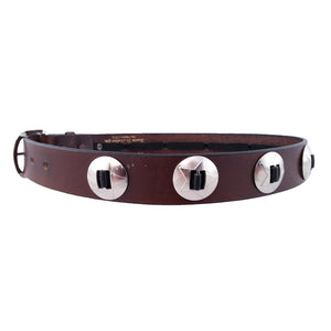 Star Concho Leather Belt 630