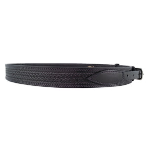Basket Weave Leather Ranger Belt 625R