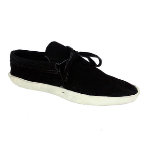 Women's Lowcut Moccasins w/ Thick Leather Sole