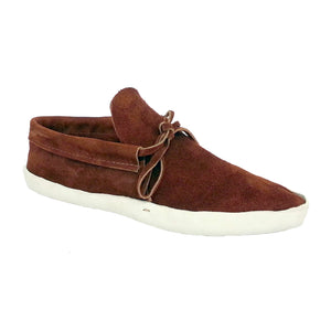 Men's Lowcut Moccasins w/ Thick Leather Sole