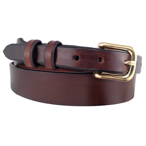 Tapered Full-Grain Leather Belt 500T