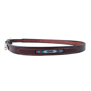 Navajo Beaded Tapered Concho Belt 421