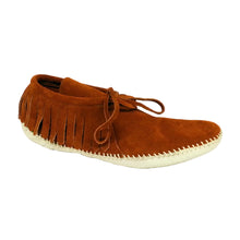 Load image into Gallery viewer, Women's Taos Leather Fringe Moccasins 2052W