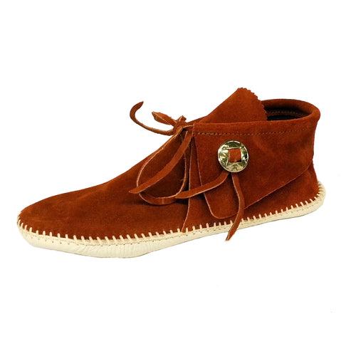 Men's Taos Leather Moccasins w/ Concho 2068M