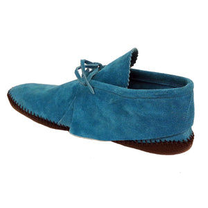 Women's Taos Leather Moccasins w/ Concho 2068W