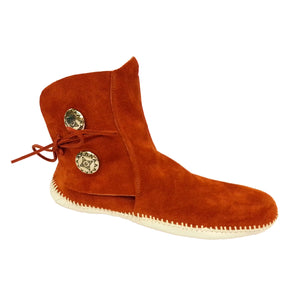 Women's Taos Leather Moccasins w/ 2 Conchos 3000W