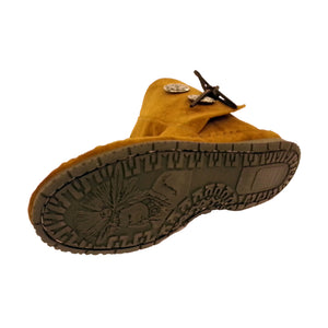 Women's Taos Suede Moccasins w/ Rubber Sole 3000WS