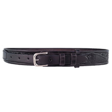 Load image into Gallery viewer, Leaf Pattern Leather Ranger Belt 655R