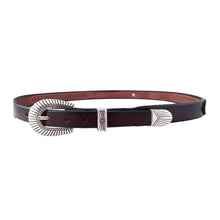 Load image into Gallery viewer, Navajo Beaded Tapered Concho Belt 421
