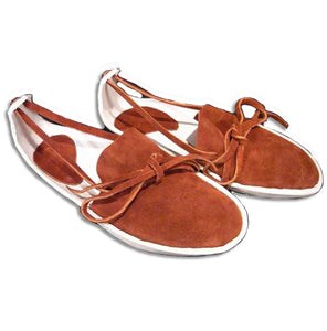 Women's Sandal Moccasins w/ Thick Leather Sole