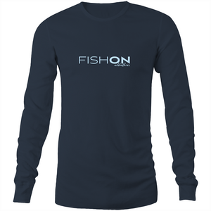 Fish On Long Sleeve Tee
