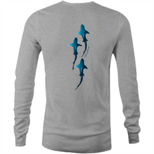 Load image into Gallery viewer, Shark Bait Long Sleeve Tee